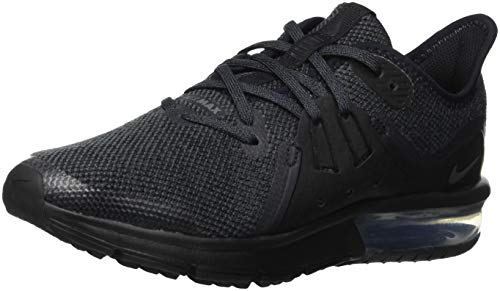 Nike Air Max Sequent 3 (GS) Sneakers, Schwarz (Black/Anthracite 006), 39 EU