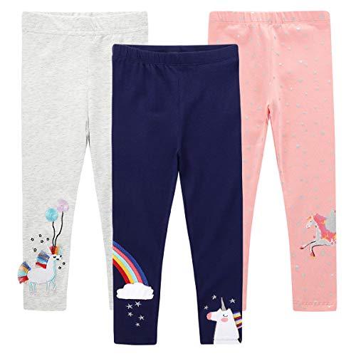NC Limited/®Leggings per bambine in tinta unita 45/% cotone Teen Basic Metallic Pantaloni a tutta lunghezza legging pantaloni danza scuola bambini 5-13