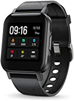 "SoundPEATS Smart Watch Fitness Tracker with All Day Heart Rate Monitor Sleep Quality Tracker IP68 Waterproof 1.4"" Large..."