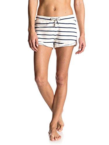 Roxy Womens Roxy Signature Stripe Fleece Shorts Erjfb03106