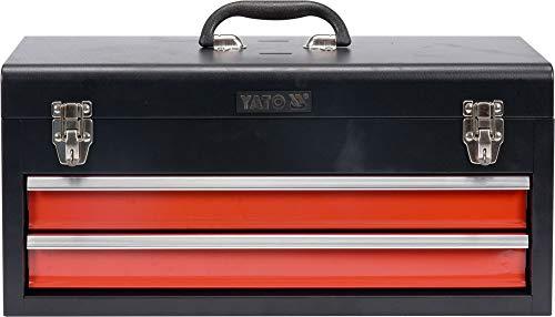 Werkzeugkoffer Werkzeugkiste Werkzeugbox Werkstattkoffer mit 2 Schubladen
