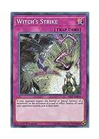 遊戯王 英語版 SAST-EN079 Witch's Strike 魔女の一撃 (シークレットレア) 1st Edition