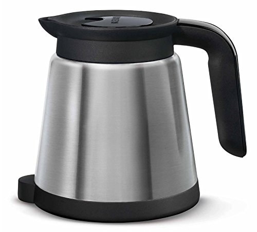 Keurig 2.0 Thermal Carafe 32oz Double-Walled, Vacuum-Insulated, Holds and Dispenses Upto 4 Cups of Hot Coffee, Compatible With Keurig 2.0 K-Cup Pod Coffee Makers, Stainless Steel