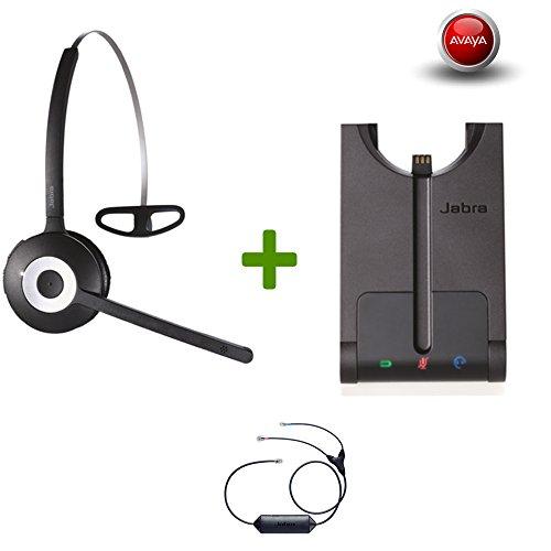 Avaya Phone certified Jabra Cordless Headset | PRO 920 Avaya Bundle | | Avaya Compatible VoiP phones: 1408, 1416, 9404, 9406, 9408, 9504, 9508 | Electronic Remote Answerer included