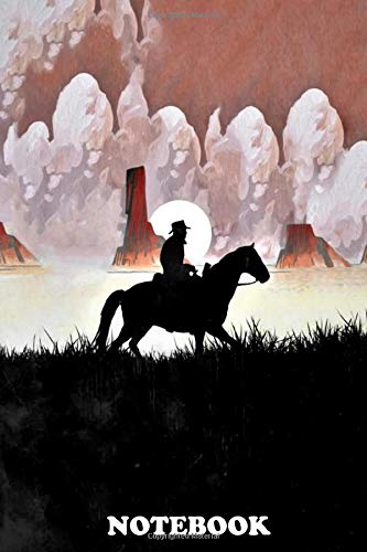Notebook: Red Dead Vintage Poster , Journal for Writing, College Ruled Size 6