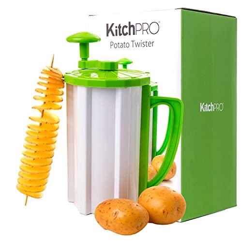 KitchPro Kartoffel-Twister Tornado-Schneider für Spiralkartoffeln