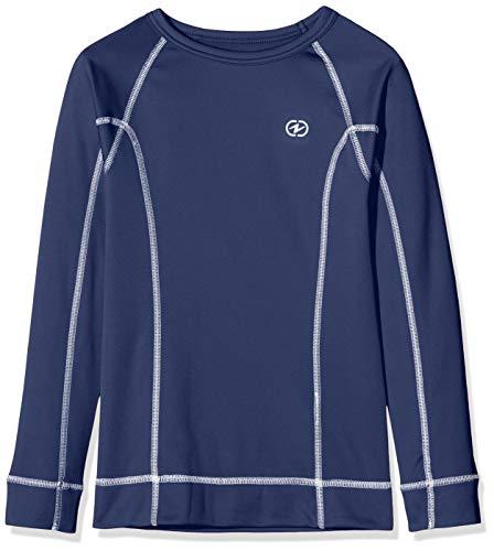 Damart Sport T-Shirt Easy Body Thermolactyl 4 Mixte enfant, Bleu, 6 ans