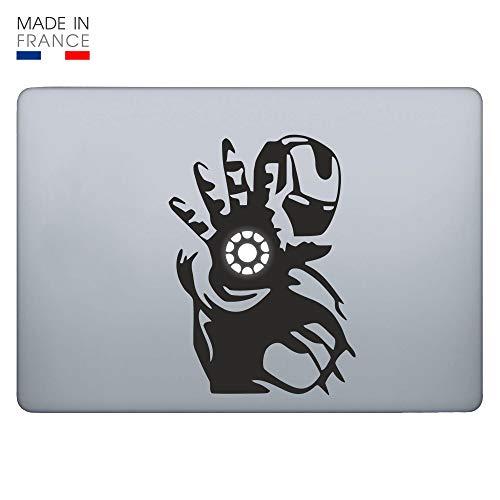L'autocollant Iron Man pour Mac