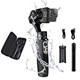 Hohem iSteady Pro 3, 3-Axis Handheld Gimbal Stabilizer Compatible for Action Cameras, 12hrs Battery Life Action Cameras Control