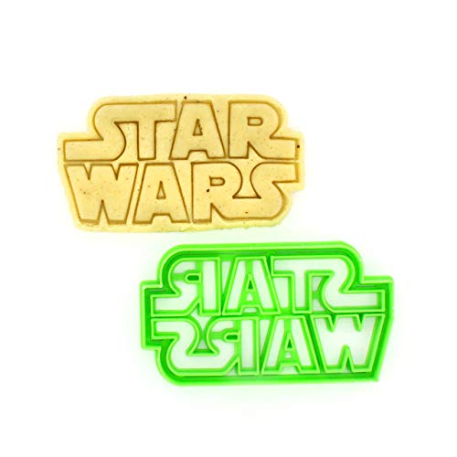 Cookie Cutter by 3DForme, Star Wars Serias Baking Cake Fondant Frame Mold for Buscuit