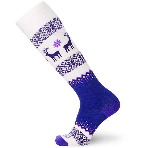 Pure Athlete Warm Wool Ski Socks Winter – Women...
