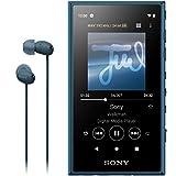 ソニー ウォークマン 16GB Aシリーズ NW-A105HN : ハイレゾ対応 / MP3プレーヤー / bluetooth / android搭載 / microSD対応 タッチパネル搭載 最大26時間連続再生 360 Reality Audio再生可能モデル ブルー NW-A105HN LM