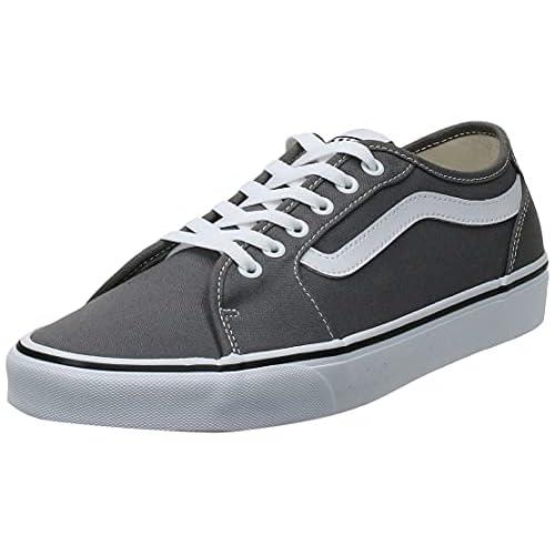 VANS Filmore Decon, Sneaker Uomo, Grigio (Canvas/Pewter/White 4Wv), 42 EU