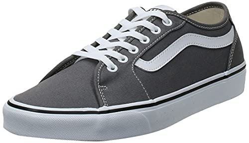VANS Filmore Decon, Sneaker Uomo, Grigio (Canvas/Pewter/White 4Wv), 40 EU