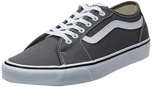 Vans Herren Filmore Decon Sneaker, Grau ((Canvas) Pewter/White 4Wv), 42 EU