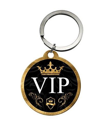 Porte Clé Rond Logo VIP