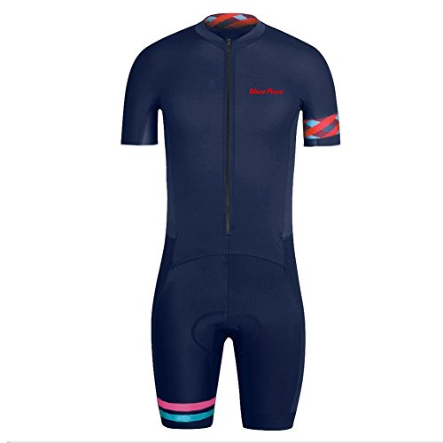 Uglyfrog Bike Wear De Manga Corto Maillot with Short Legs Ciclismo Hombre Skinsuit with Gel Pad Summer Style 02
