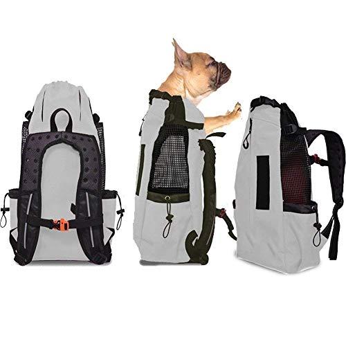 WLDOCA Mochila del Perro,Bolso para Perros Cachorros Portátil Y Seguro, Portador De Transporte De Mascotas para Viajar/Senderismo/Camping