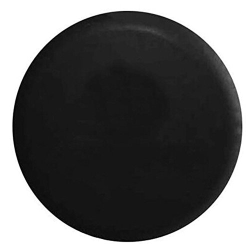 BCP Black Color PU Leather Spare Tire Cover (Fit 31-33 inches)