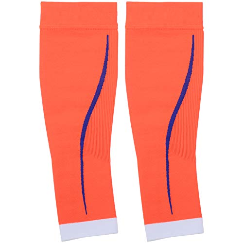 EVTSCAN Mangas para pantorrillas, 1 par de compresión para pantorrillas Mangas para piernas Calcetines Medias Protectoras Deportivas sin pies(S/M)