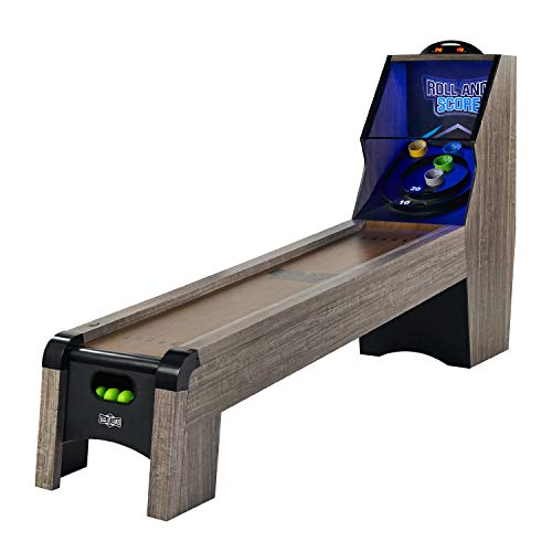 Hall of Games 108' Roll and Score Game, Brown/Black, 9 Foot