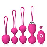 Kegel Balls for Tightening - Acvioo Set of 4 Ben Wa Balls for Women Kegel Exercise Weights Products- Doctor Recommended for Bladder Control & Pelvic Floor Advanced Exercises