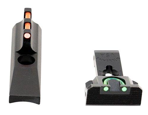 Williams Firesight Fiber Optic Sights for Browning Buckmark 22 Short - 70232