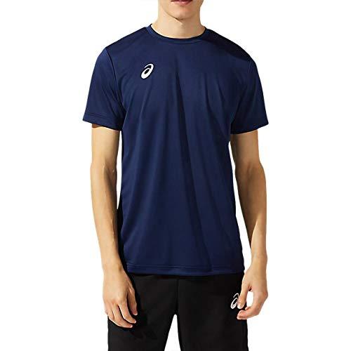[アシックス] トレーニングウエア 半袖シャツ 2031C243 メンズ 400(ピーコート) 日本 M (日本サイズM相当)