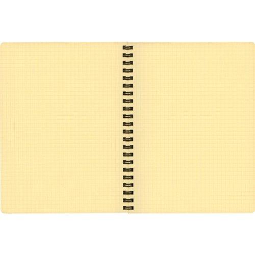 ロルバーンポケット付メモA5【イエロー】500056-184