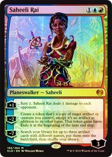 Magic The Gathering - Saheeli Rai (186/264) - Prerelease & Release Promos - Foil