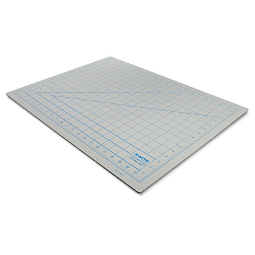 X-ACTO Self-Healing Cutting Mat, Non-Stick Bottom, Gray, 18x24 Inches