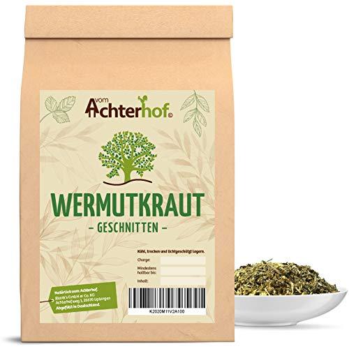 Wermutkraut geschnitten 100g Wermut-Tee Kräutertee natürlich vom-Achterhof