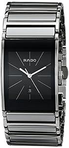 Rado Men's R20784159 Integral Black Dial Platinum Ceramic Watch Review and Reviews and review