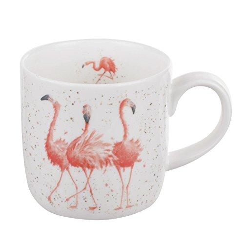 Wrendale by Royal, Pink Ladies (Flamingos),  19 x 12 x 8 cm