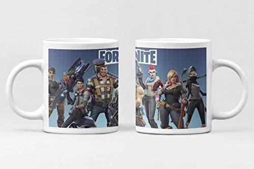 Desconocido Taza Fornite. Taza cerámica de café para niños y niñas
