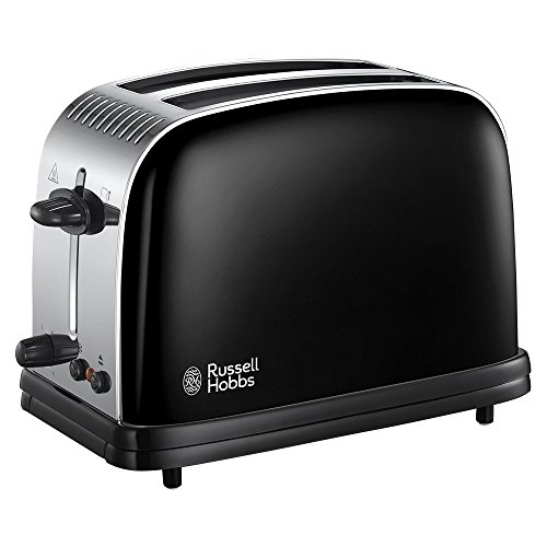 Russell Hobbs couleurs plus 2 tranches Grille-pain - Noir