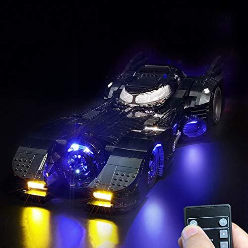 TETAKE Beleuchtung LED Licht Set für Lego Batmobile 76139 (Nicht Enthalten Lego Modell)