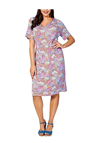 Joe Browns Damen-Kleid Millefleurs-Kleid Mehrfarbig Größe 48