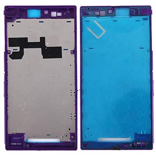 GGAOXINGGAO Pieza de Repuesto de reemplazo de teléfono móvil Placa del Bisel del Marco del LCD de la Carcasa Delantera para para Sony Xperia Z Ultra / XL39H / C6802 Accesorios telefónicos