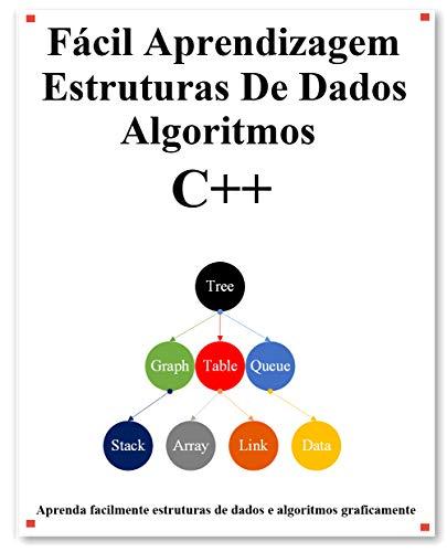 Fácil Aprendizagem Estruturas De Dados e Algoritmos C++: Aprenda graficamente estruturas e algoritmos de dados C++