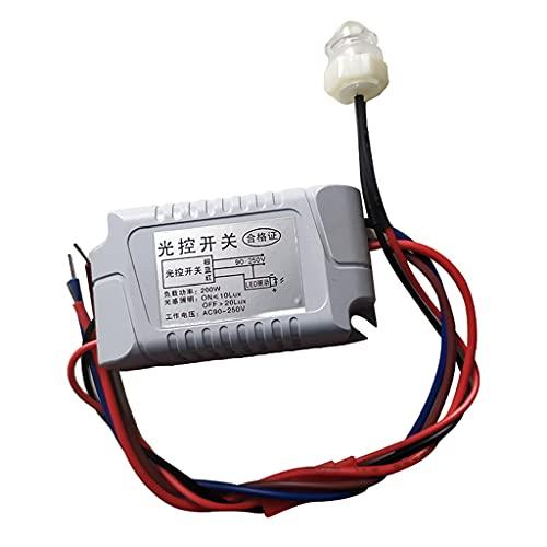 1x Dämmerungssensor Schalter, Abend Licht Schalter für Aussenbereich Beleuchtung