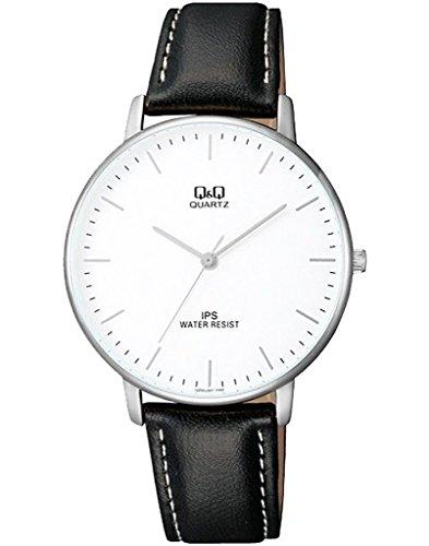Q&Q Analog White Dial Men's Watch - QZ00J301Y