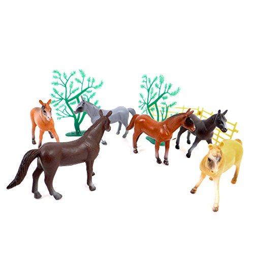 WDK PARTNER - A1100020 - Figurines - Sachet de chevaux - Modèle aléatoire