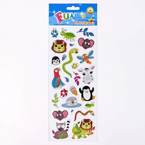 Fun Stickers Jungle Friends 932