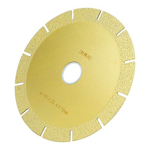 Hoja de soldadura fuerte con disco abrasivo para exteriores para el hogar(150 * 25.4 * 15mm)
