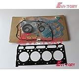 Kubota Excavator V2203 v2203-M V2403 - Juego de juntas para motor completo