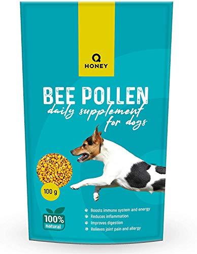 Q HONEY Tageszusatz für Hunde | Gelenkschutz | 100 g