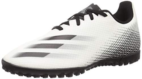 adidas X GHOSTED.4 TF, Scarpe da Calcio Uomo, Ftwbla/Negbás/Plamet, 45 1/3 EU