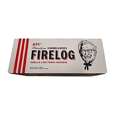Enviro-Log KFC Fire Log - Limited-Edition 11 Herbs & Spices Fire Starter Log 5 Lbs from Enviro-Log