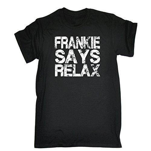 Da Donna Relax NON TI DO IT T-Shirt Divertente Costume 80s Musica Retrò Frankie 1980s